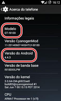 Android KitKat 4.4.3 no Galaxy S2