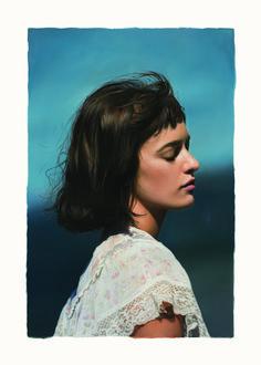 Yigal Ozeri, untitled (Olya), 2018, Galerie Andreas Binder