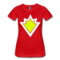 This SuperTed Symbol T-Shirt is printed on a T-Shirt and designed by.  Spreadshirt 9534137304