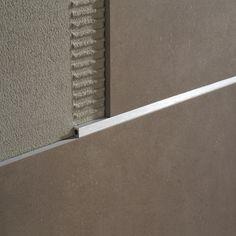 Listec LI 10 - Decorative listello - POSITIVE PROFILE - Profilitec s.p.a. Interior Styling, Interior Decorating, Interior Ideas, Fireplace Resurfacing, Wall Design, House Design, Tile Trim, Tile Projects, Baseboards