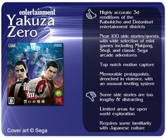 Snappy #game #review for Yakuza Zero (Ryu ga Gotoku Zero)