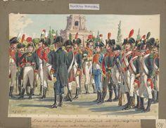 Stato dell' uniforme della Guardia Nazionale della Republica Cispada(na) prima della sua fasione nella Republica Cisalpina 1797