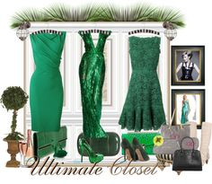 """Incredble green"" by valentinajoanna on Polyvore"