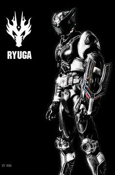 KAMEN RIDER RYUGA by MoA07.deviantart.com