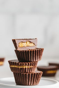 Chocolate Peanut Butter Cups are a healthier take on a traditional treat. Our recipe is packed with protein, making it the perfect guilt-free treat. Chocolate Peanut Butter Cup Recipe, Peanut Butter Desserts, Chocolate Cups, Chocolate Peanuts, Pb2 Recipes, Real Food Recipes, Dessert Recipes, Easy Recipes, Desserts To Make
