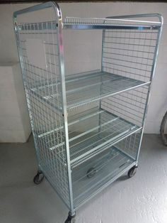 Roll containers Roll cages/ Rolling shelves