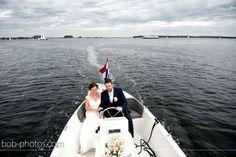 Trouwvervoer Sloep varen in Vere Bob-photos.com