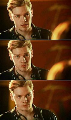 """Jace Wayland/Lightwood in episode 2x11 #Shadowhunters The """"are you F*ing serious right now face"""""""