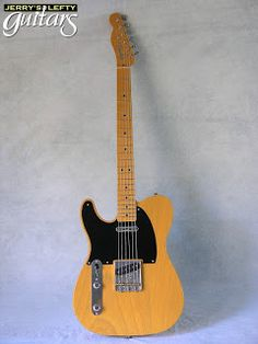 Jerry's Lefty Guitars newest guitar arrivals.: Fender American 1952 Reissue Telecaster used left handed guitar Fender Telecaster, Fender Guitars, Lefty Guitars, Fender American, Gibson Les Paul, Left Handed, Young Prince, Electric Guitars, Funny