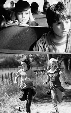 Bridge to Terabithia starring little Josh Hutcherson and Annasophia Robb <3