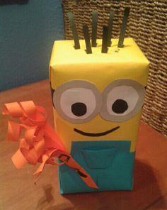 Envoltorio regalo minion