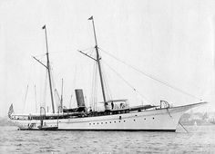 Electra, Aug. 3, 1895 taken by the little known photographer John S. Johnston of New York City.
