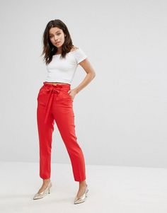Miss Selfridge Paperbag Pant