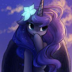 Princess luna, royal pony sister, princess of the night and also ...