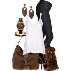 Playful sophisticated outfit