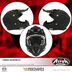 Airoh cross kasklarıyla hiçbir şey sana engel değil!