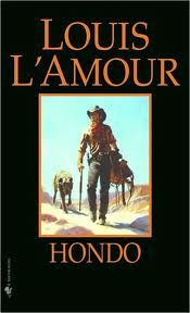 Hondo, by Louis L'Amour.  Good book; made into an excellent movie starring John Wayne