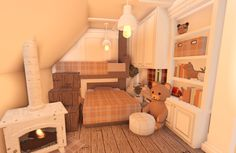Two Story House Design, Tiny House Layout, House Layout Plans, House Layouts, Simple Bedroom Design, Unique House Design, Room Design Bedroom, Kids Bedroom, Home Building Design