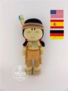 #Indian crochet pattern #amigurumi pattern #Julio toys# amigurumi Indian #crochet pattern #amigurumi#pattern#indian#