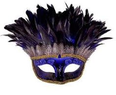 Feather Masquerade Masks at  Glendale Halloween >> #USA #Glendale #Costumes #Halloween #Masks