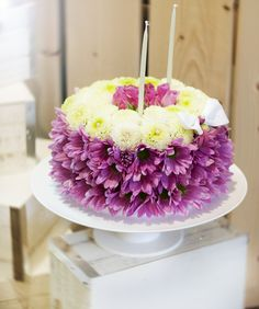 Unique gifts made of fresh flowers @Toy Florist.com