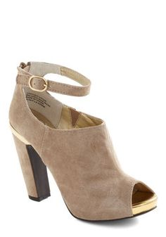 Nothin' But Trouble Heel, #ModCloth