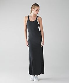 17e1d6ad6ee Refresh Maxi Dress II in heathered black Lulu Love