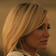 eyeliner evolved: cheetah tears are the new cat eyes. Cameron Diaz in The Counselor.