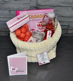 panier tagada Yummy Food, Tasty, Diy Hacks, Homemade Gifts, Gift Baskets, Macarons, Food Videos, Box, Christmas