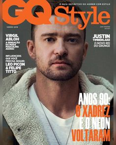 Justin Timberlake for GQ Style Magazine Brazil Summer 2019 Justin Timberlake, Gq Style, Magazine Covers, Brazil, Sexy Men, Feelings, Sayings, Summer, Men's