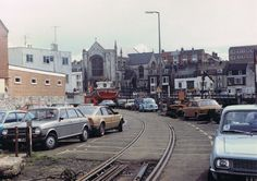 The Loop, Commercial Road, Weymouth, Dorset. Photo taken copyright Steve Sainsbury Weymouth Harbour, Weymouth Dorset, Weymouth England, Dorset England, British Rail, By Train, Model Trains, Old Photos, Roads