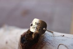 Mind Over Matter Ring by ashleyweber on Etsy, $48.00