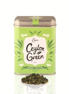 Ceylon Green- Emporio #tea #packaging by Inject Design, Wellington, New Zealand