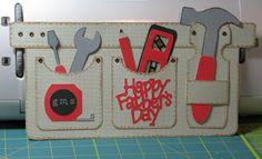Ruelysicreativecards.....: Toolbelt cards by Cricut board members: