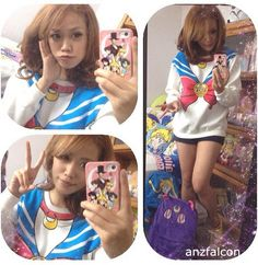 M-XL size and has #chibimoon version as well, now having a giveaway on www.spreepicky.com for this lovely jumper!