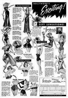vintage+Fredericks+of+Hollywood+illustrated.jpg (1113×1600)