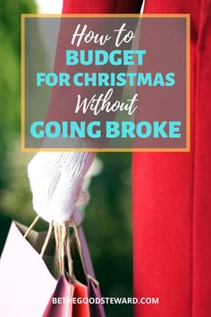 """""""It's not even Halloween yet! Why would I think about how to budget for Christmas now?"""" I'll tell you why. Because if you don't, you could end up breaking the bank! Learn how to properly budget for Christmas early! #bethegoodsteward #christmas2020 #budgeting Biblical Stewardship, Total Money Makeover, Sinking Funds, Expensive Gifts, Christmas On A Budget, Get Out Of Debt, Frugal Living Tips, Financial Goals, Extra Cash"""