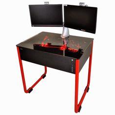 Lian Li DK01 Is A Deskt/PC Case Hybrid