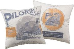 "Pillow - ""Pilgrim Products"""