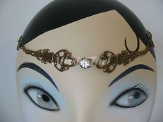 Check out the Antique Gold Elvin Fairy Queen Filigree Circlet/Headpiece with Diamante *NEW*  http://www.ebay.com.au/itm/Antique-Gold-Elvin-Fairy-Queen-Filigree-Circlet-Headpiece-Diamante-NEW-/160855948609?pt=AU_HandcraftedJewellery=item2573c2fd41  Just $45.95