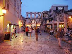 Diocletian's Palace Split Croatia