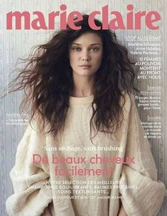 #Marie #Claire #France #Magazine #Diana #Moldovan #Romanian #Model Marie Claire France, Marie Claire Magazine, Romanian Women, Diana Moldovan, Cheveux Ternes, Covergirl, Eyeliner, Make Up, T Shirts For Women