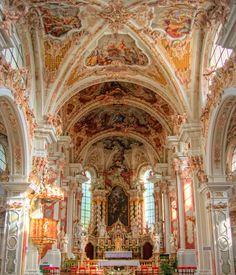 The Abbey Interior by Frank Bramkamp, via 500px