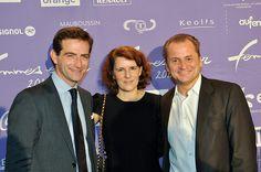 FEO12 Femmes en or 2012 (remise du prix entreprise par Orange France) Benoit Pernin et Odile Roujol Orange France Pascal Dasseux Havas
