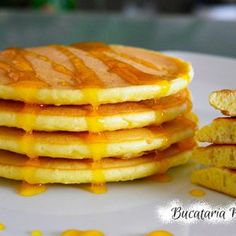 Pancakes cu iaurt Baby Food Recipes, Biscuit, Pancakes, Breakfast, Desserts, Mascarpone, Recipes For Baby Food, Morning Coffee, Tailgate Desserts