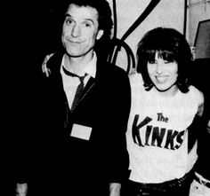Ray Davies Of The Kinks - Chrissie Hynde Of The Pretenders And Alice Cooper Blue Soul, Jim Kerr, Ray Davies, Happy Birthday Today, Chrissie Hynde, The Yardbirds, The Pretenders, The Kinks, Rockn Roll