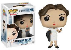 Sherlock Irene Adler Pop! Television Funko Vinyl Figure New in Box NIP 288 New in Package
