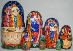 Russian Legacy | Folk Art - Nesting Dolls (Matryoshka)