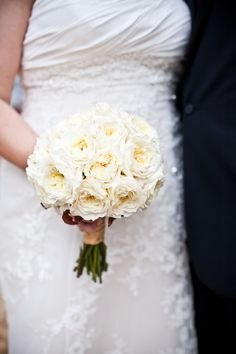 Bride and groom bouquet