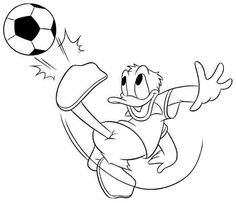 Printable Free Cartoon Disney Donald Duck Coloring Pages For Toddler
